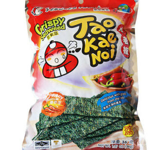 Taokaenoi, Crispy Seaweed Snack Hot & Spicy 1.12oz