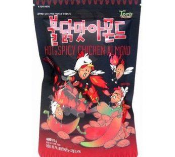 Tom's Almond Hot & Spicy Chicken 7.27oz