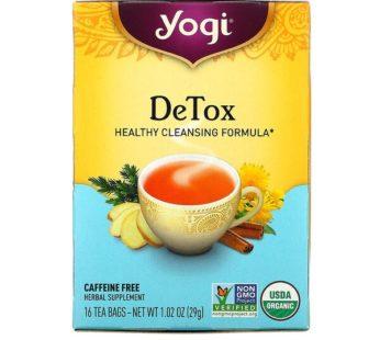 Yogi Tea DeTox, 1.02 oz