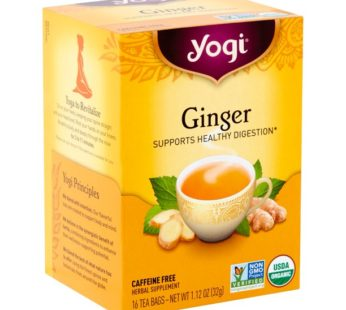 Yogi Tea Ginger, 1.12 oz