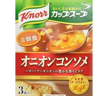 Ajinomoto, Knorr Cup Soup Kurimu Onion 1.8oz (6×10)