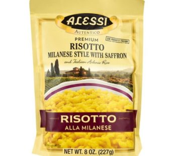 Alessi, Premium Risotto Milanese Style With Saffron 8oz