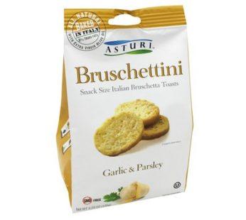 Asturi, Bruschettini Garlic & Parsley 4.23oz