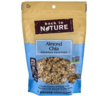 Back To Nature, Almond Chia Granola Clusters 11oz