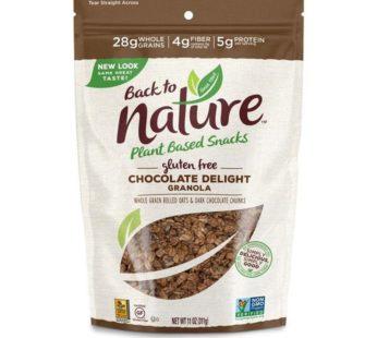 Back To Nature, Gluten Free Chocolate Delight Granola 11oz