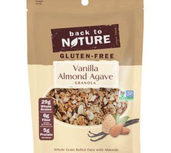 Back To Nature, Gluten Free Vanilla Almond Agave Granola 11oz