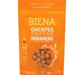 Biena, Chickpea Snacks Habanero 5oz