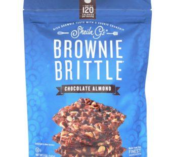 Brownie Brittle, Chocolate Almond 5oz