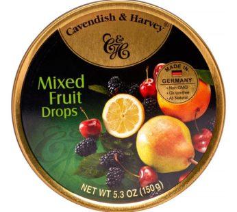 Cavendish & Harvey, Mixed Fruit Drops 5.3oz
