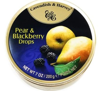 Cavendish & Harvey, Pear & Blackberry Drops 5.3oz