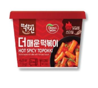 Dongwon, Topokki More Hot Spicy 4.23oz