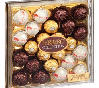 Ferrero Collection, Fine Assorted Confections 24 pieces 9.1oz