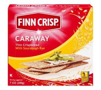 Finn Crisp, Caraway Sourdough Rye Thins 7oz