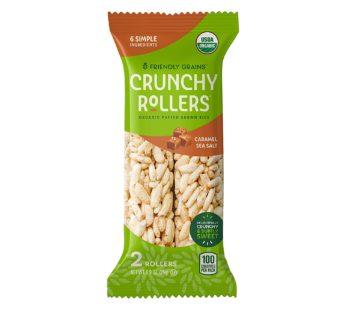 Friendly Grains, Organic Crunch Rollers Caramel Sea Salt 0.9oz