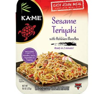 Kame, Sesame Teriyaki with Hokkien Noodle 9.6oz