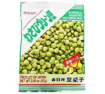 Kasugai, Roasted Hot Green Peas 2.36oz
