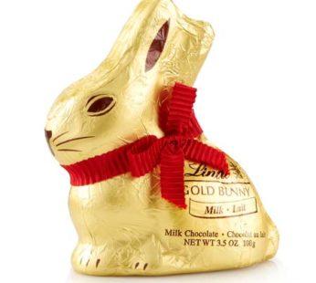 Lindt, Gold Bunny Milk Chocolate 7oz