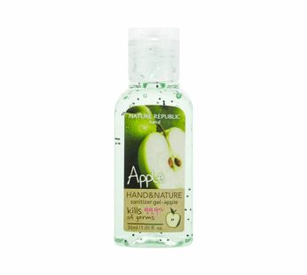 Nature Republic, Hand & Nature Sanitizer Gel Apple 0.067 fl oz X 100ea