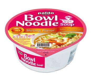 Paldo, Bowl Noodle Soup Shrimp Flavor 3.03oz