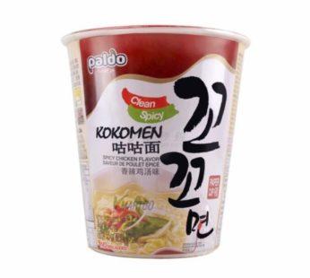 Paldo, Clean Spicy Chicken Cup Noodle Soup Kokomen 2.29oz
