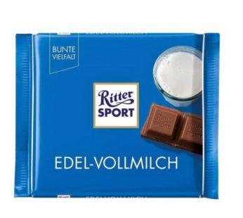 Ritter Sport, Edel-Vollmilch Fine Milk 3.5oz