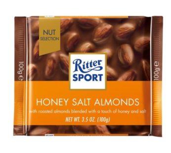 Ritter Sport, Honey Salted Almonds 3.5oz