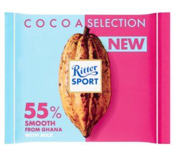 Ritter Sport, Kakao Klasse 55% Die Milde 3.5oz
