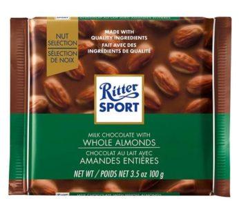 Ritter Sport, Whole Almonds 3.5oz