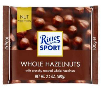 Ritter Sport, Whole Hazelnuts 3.5oz