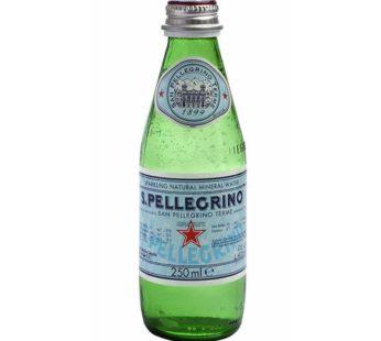 S.Pellegrino, Sparkling Natural Mineral Water 8.45fl.oz