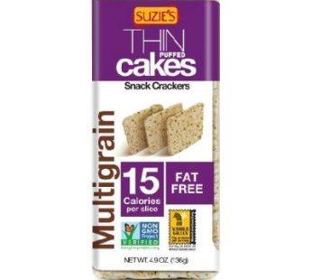 Suzie's, THIN Puffed cakes Multigrain 4.9oz