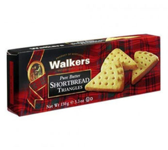 Walkers, Pure Butter Shortbread Triangles 5.3oz