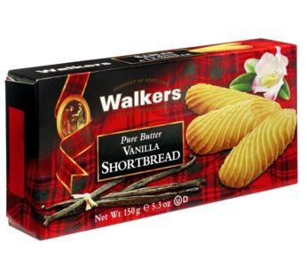 Walkers, Pure Butter Vanilla Shortbread 5.3oz