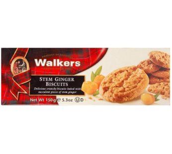 Walkers, Stem Ginger Biscuits 5.3oz