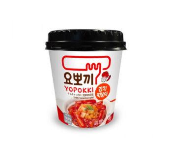 Young poong, Yopokki Kimchi Topokki Cup 4.05oz