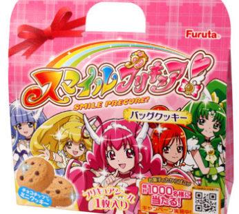 Furuta, Precure Bag Cookie 0.69oz 공주 가방 쿠키