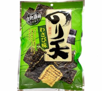 Ohgiya Fried Laver Cracker Noriten Green 2.4oz 초록 봉지 김 튀각