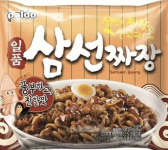 Paldo, Samseon Jjajangmen Pack 4.23oz