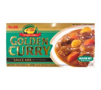 S&B, Golden Curry Medium Hot 7.8oz