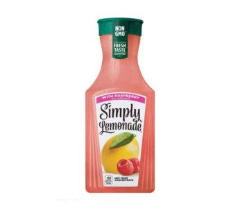 Simply Lemonade with Raspberry Juice