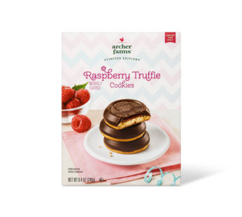 Raspberry Truffle Cookie