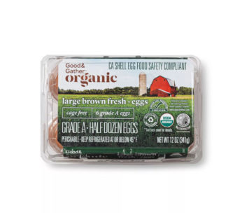 Organic Cage-Free Grade A Large Brown Eggs