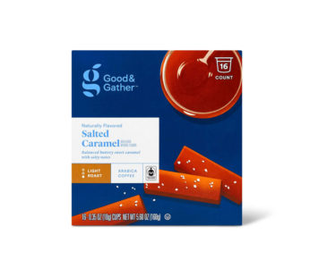 Naturally Flavored Salted Caramel Light Roast Coffee