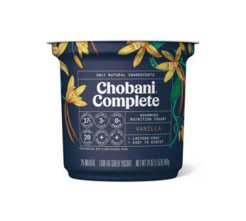 Chobani Complete Vanilla Greek Yogurt