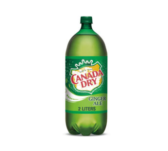 Canada Dry Ginger Ale – 2 L Bottle