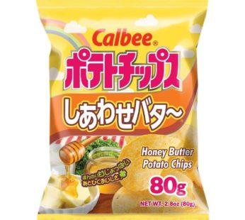 Calbee, Potato Chips Honey Butter 2.8oz