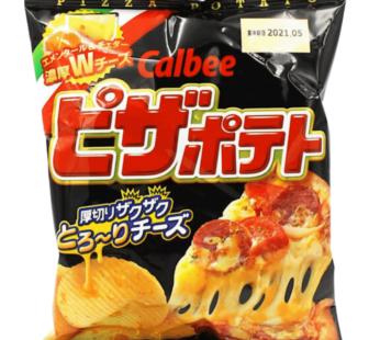 Calbee, Potato Chips Pizza 2.54oz