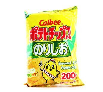 Calbee, Potato Chips Salt&Seaweed 2.8oz