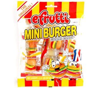 Efrutti, Classic Bag Gummy Mini Burger 7pc 2.2oz