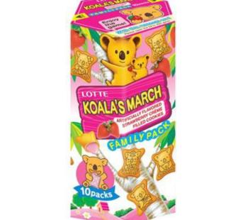 Lotte, Koala's March Strawberry Fm 6.89oz